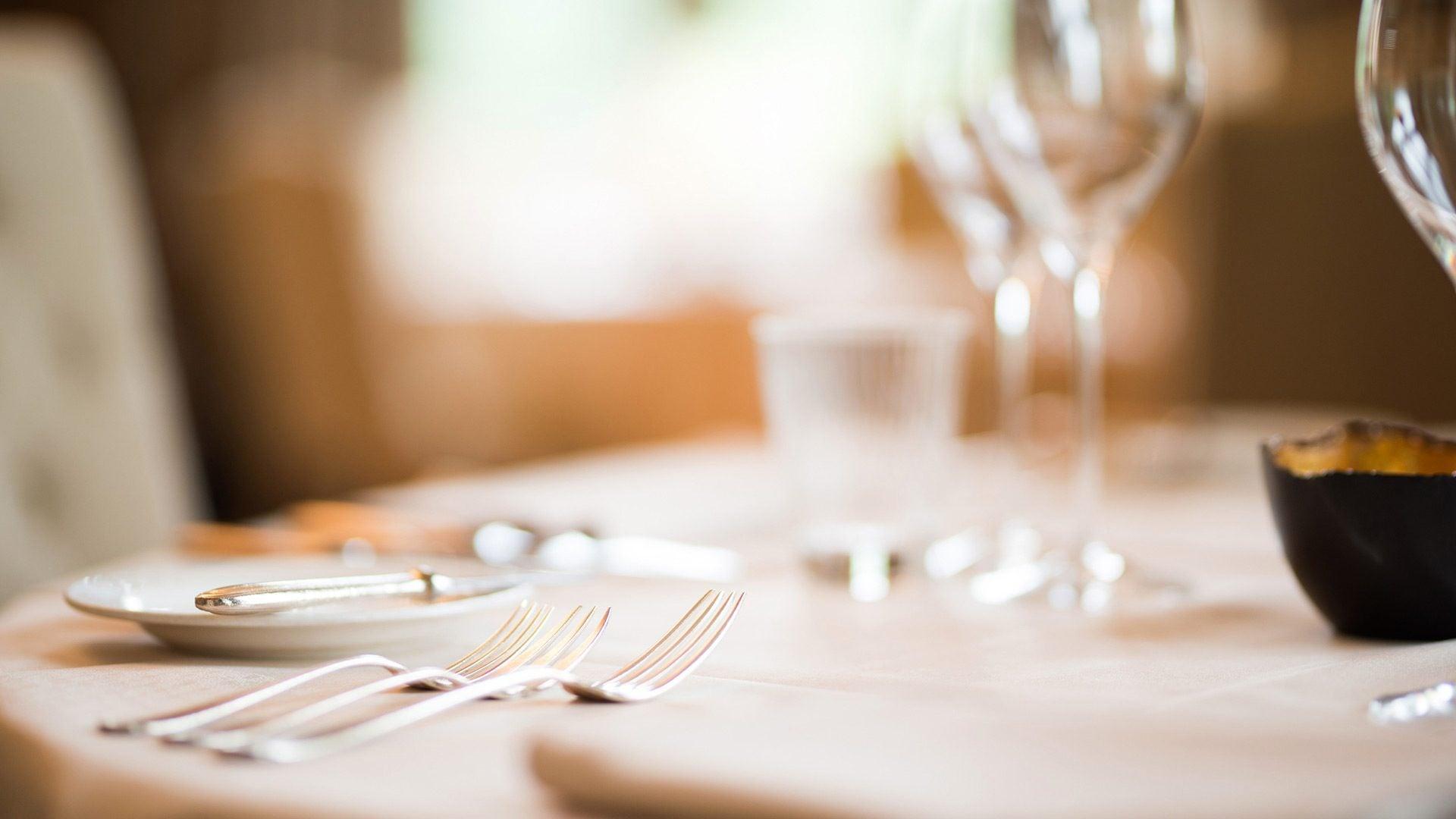 Taille Menu Carte Restaurant Gastronomique X